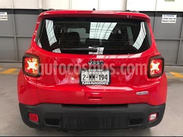 Jeep Renegade 5p Latitude L4/1.8 Aut usado (2019) color Rojo precio $434,900