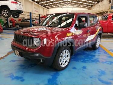 Foto venta Auto usado Jeep Renegade 5p Sport L4/1.8 Aut (2018) color Rojo precio $399,900