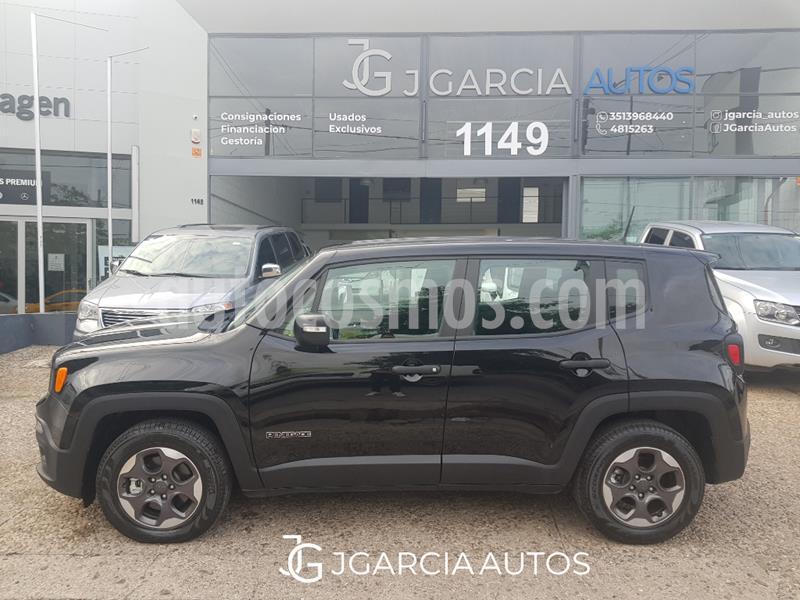 Jeep Renegade Sport usado (2017) color Negro precio $1.575.000