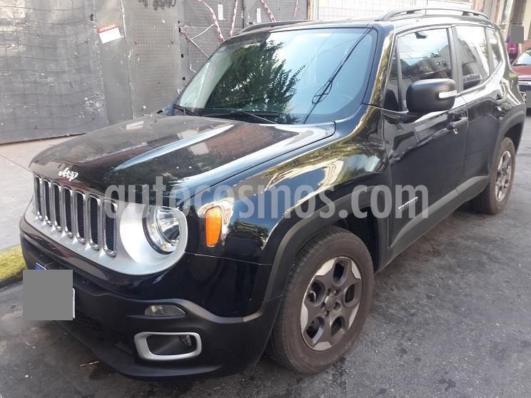 Jeep Renegade Sport Plus Aut usado (2017) color Negro precio $1.845.000
