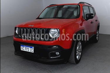 Jeep Renegade Sport usado (2018) color Rojo precio $1.300.000