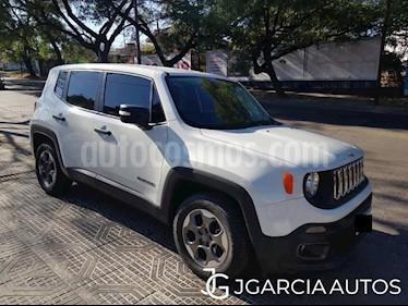 Jeep Renegade Sport usado (2017) color Blanco precio $1.340.000