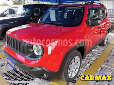 Jeep Renegade 1.8L Sport usado (2020) color Rojo precio $76.900.000