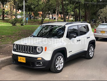 Jeep Renegade 1.8L Sport Plus Aut  usado (2018) color Blanco Alpine precio $65.900.000