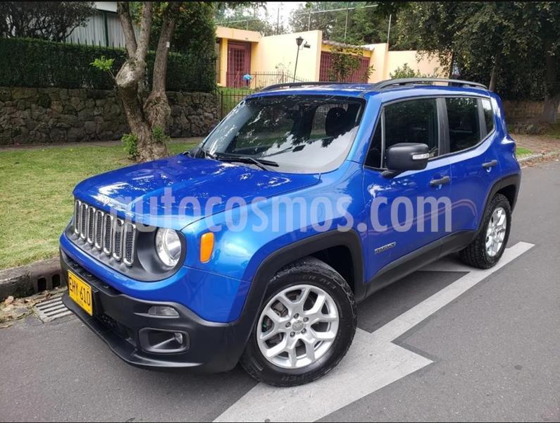Jeep Renegade 1.8L Sport Plus usado (2018) color Azul precio $63.900.000