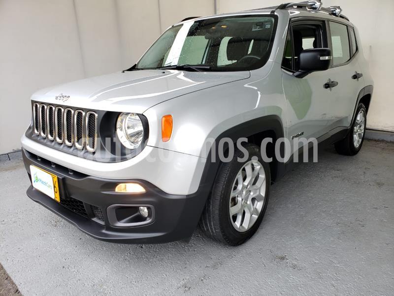 Jeep Renegade 1.8L Sport Aut usado (2018) color Gris Ceniza precio $66.990.000