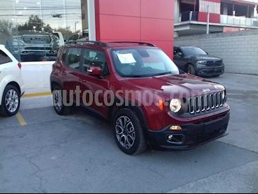 Jeep Renegade 4x2 Latitude Aut usado (2017) color Rojo precio $270,000