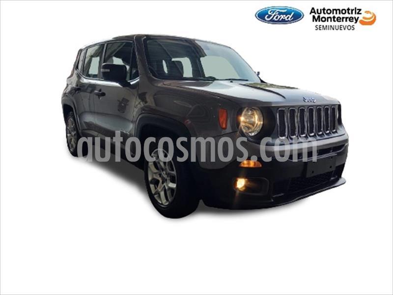 Jeep Renegade SPORT usado (2018) color Gris precio $314,900