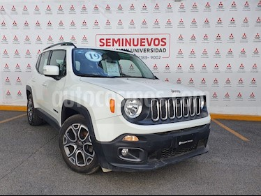 Jeep Renegade 4x2 Latitude Aut usado (2018) color Blanco Alpine precio $325,000
