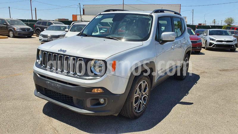 Jeep Renegade 4x2 Latitude Aut usado (2018) color Plata precio $239,900