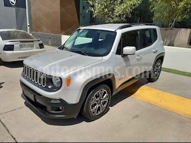 Jeep Renegade 4x2 Latitude Aut usado (2018) color Plata precio $295,000