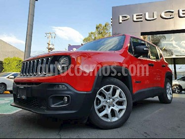 Jeep Renegade 3p Sport L4/1.8 Aut usado (2018) color Rojo precio $289,900