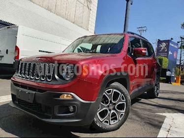 Jeep Renegade 4x2 Latitude Aut usado (2018) color Rojo precio $329,900
