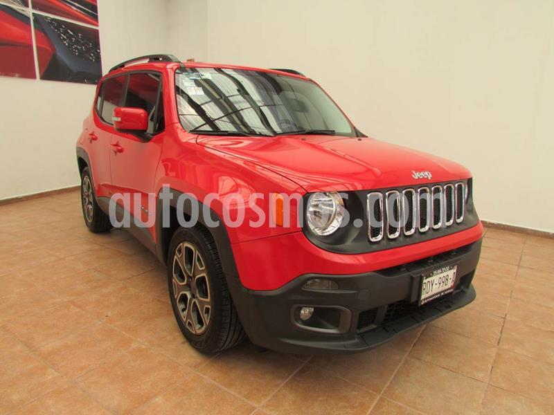 Jeep Renegade 4x2 Latitude Aut usado (2018) color Rojo precio $335,000