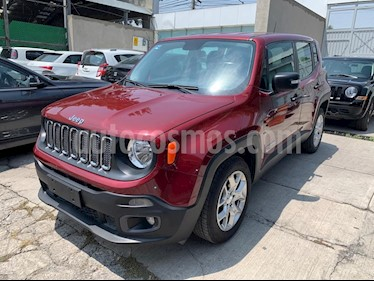 Jeep Renegade 4x2 Sport Aut usado (2017) color Rojo Cerezo precio $259,900
