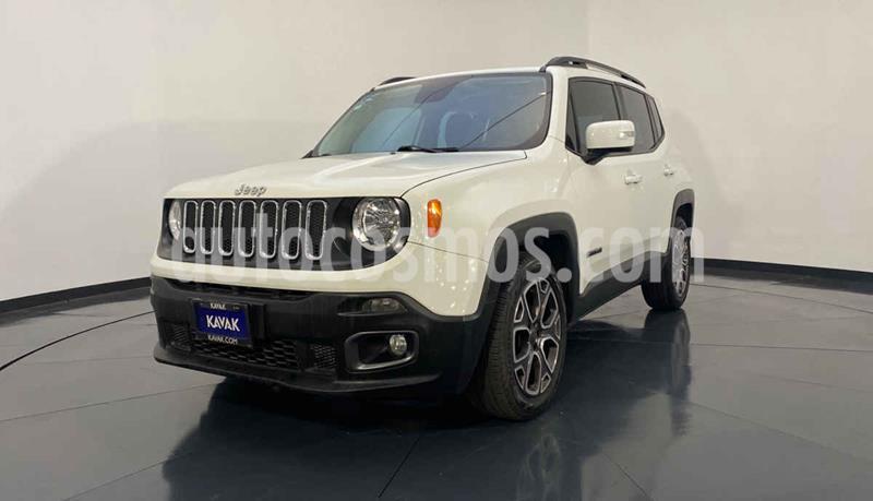 Jeep Renegade 4x2 Latitude Aut usado (2017) color Blanco precio $312,999