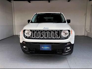 Jeep Renegade 3p Sport L4/1.8 Aut usado (2018) color Blanco precio $323,000