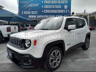 Jeep Renegade 4x2 Latitude Aut usado (2018) color Blanco precio $309,900