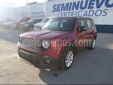 Jeep Renegade 4x2 Sport Aut usado (2018) color Rojo precio $290,000