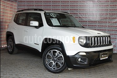Jeep Renegade 4x2 Latitude Aut usado (2018) color Blanco Alpine precio $342,000