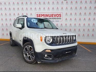 Jeep Renegade 4x2 Latitude Aut usado (2018) color Blanco Alpine precio $330,000