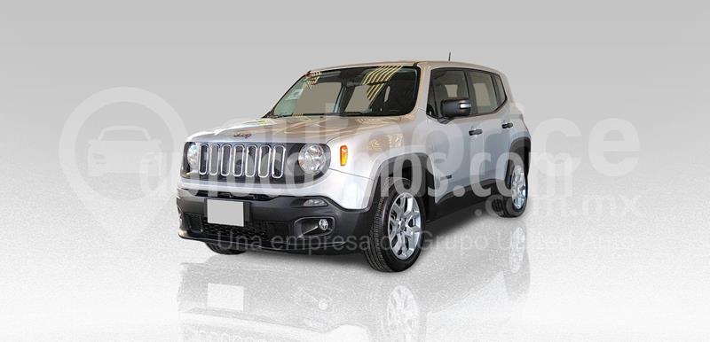 Jeep Renegade 4x2 Sport Aut usado (2018) color Plata Dorado precio $290,000