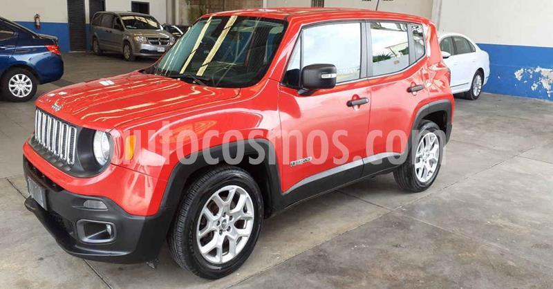 Jeep Renegade 4x2 Sport Aut usado (2018) color Rojo precio $259,900