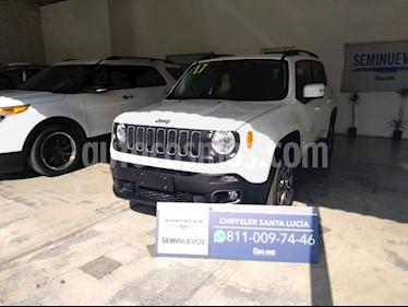 Jeep Renegade 4x2 Latitude Aut usado (2017) color Blanco precio $290,000