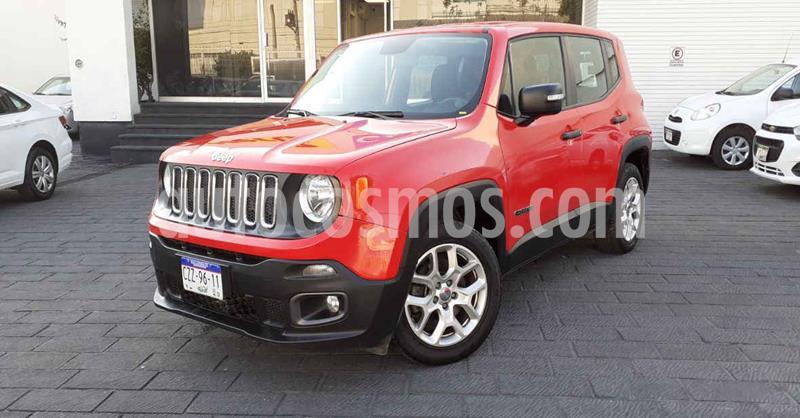 Jeep Renegade 4x2 Sport Aut usado (2018) color Rojo precio $249,900