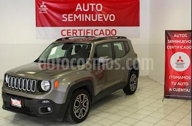 Foto Jeep Renegade 4x2 Limited Aut usado (2017) color Gris Ceniza precio $299,000