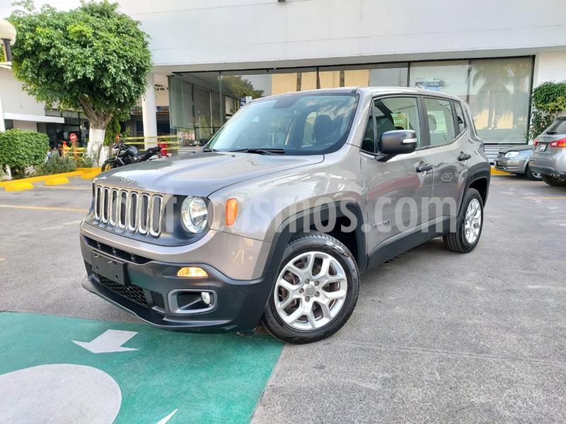 Jeep Renegade 4x2 Sport Aut usado (2018) color Gris Ceniza precio $309,000