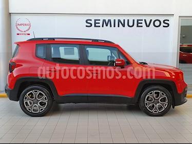 Jeep Renegade 4x2 Latitude Aut usado (2019) color Rojo precio $299,000