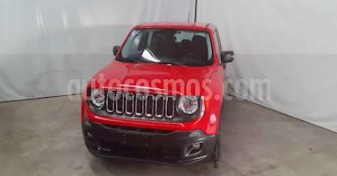 Jeep Renegade 3p Sport L4/1.8 Aut usado (2018) color Rojo precio $249,900