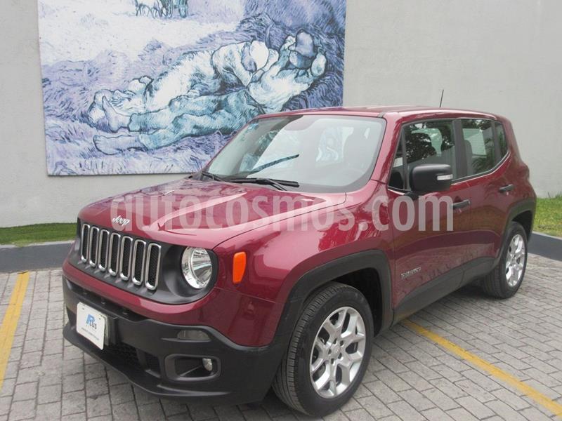 Foto Jeep Renegade 4x2 Sport Aut usado (2018) color Rojo precio $283,000