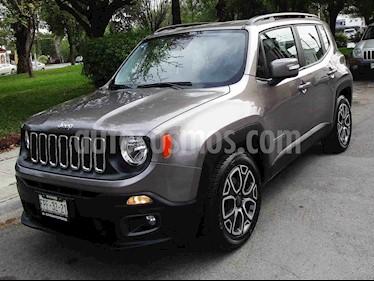 Jeep Renegade 4x2 Latitude Aut usado (2018) color Gris precio $299,000