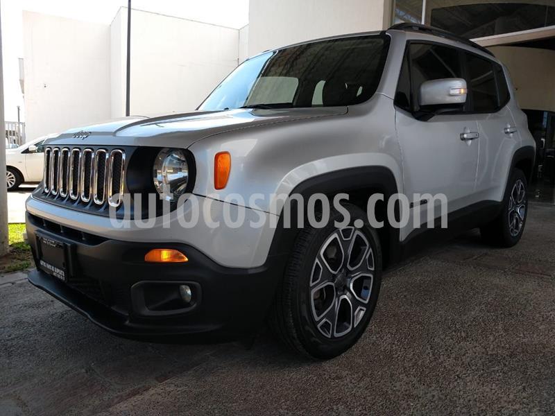 Jeep Renegade 4x2 Latitude Aut usado (2017) color Plata Dorado precio $288,000