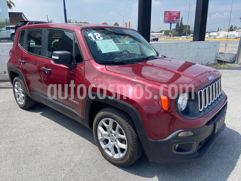 Jeep Renegade SPORT usado (2018) color Rojo precio $279,800
