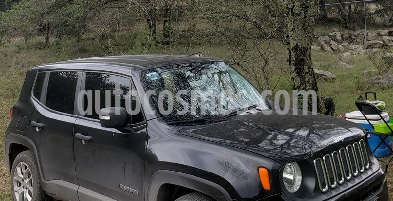 Jeep Renegade 4x2 Sport Aut usado (2018) color Negro precio $300,000