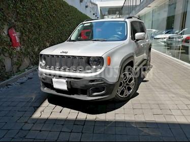 Jeep Renegade 4x2 Latitude Aut usado (2018) color Plata precio $335,000