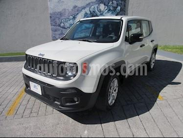 Jeep Renegade 4x2 Sport Aut usado (2018) color Blanco precio $309,000