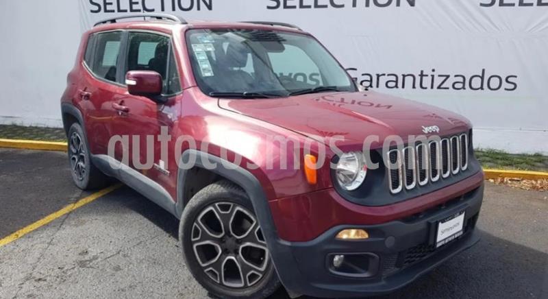 Jeep Renegade 4x2 Latitude Aut usado (2017) color Rojo Cerezo precio $280,000