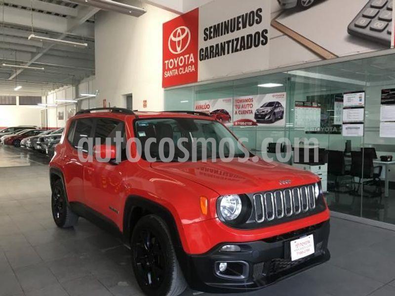 Jeep Renegade 4x2 Latitude Aut usado (2017) color Rojo precio $295,000