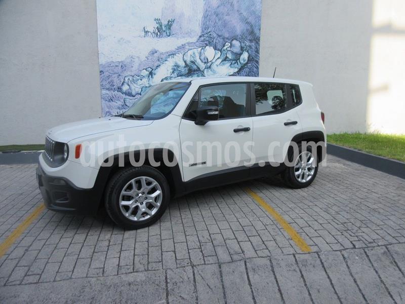 Jeep Renegade 4x2 Sport Aut usado (2018) color Blanco precio $285,000