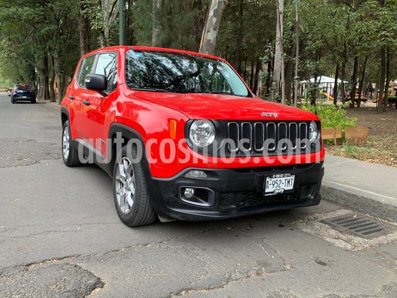 Jeep Renegade 4x2 Sport Aut usado (2018) color Rojo precio $266,000