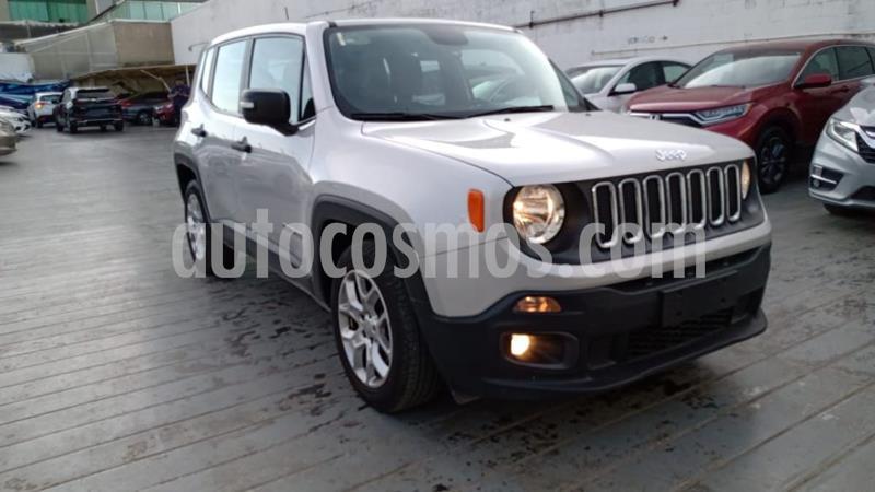 Jeep Renegade 4x2 Sport Aut usado (2018) color Plata Dorado precio $289,000