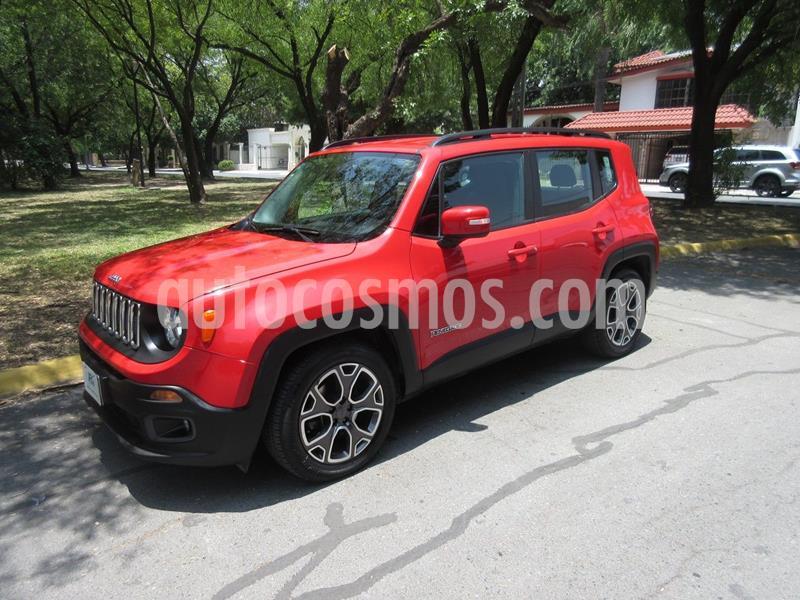Jeep Renegade 4x2 Latitude Aut usado (2018) color Rojo precio $295,000