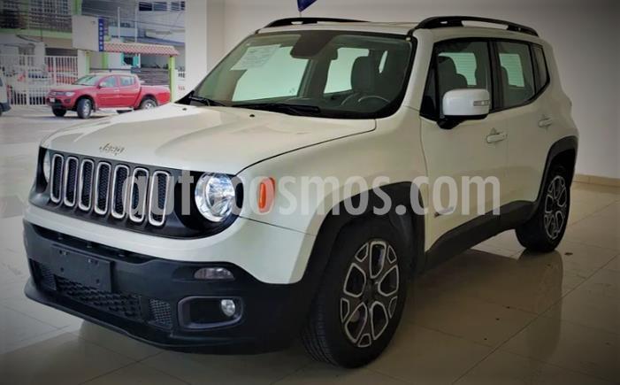 Jeep Renegade 4x2 Latitude Aut usado (2018) color Blanco precio $299,999