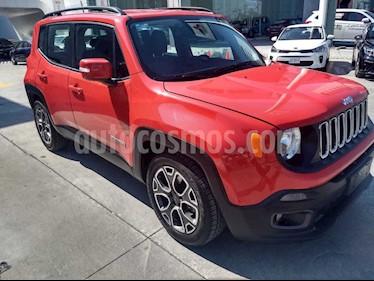 Jeep Renegade 4x2 Latitude Aut usado (2018) color Rojo precio $346,900