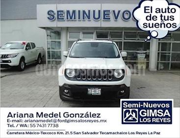 Jeep Renegade LATITUDE usado (2018) color Blanco precio $320,000