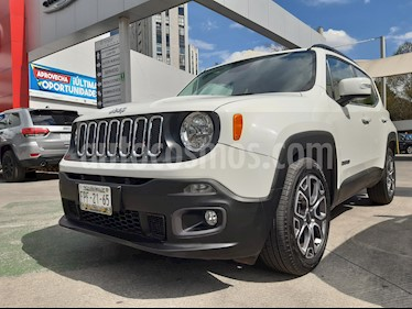 Jeep Renegade 4x2 Latitude Aut usado (2018) color Blanco Alpine precio $336,000